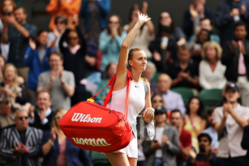 Kvitova was coming off an early exit in the first round of Wimbledon two week ago. Photo:
