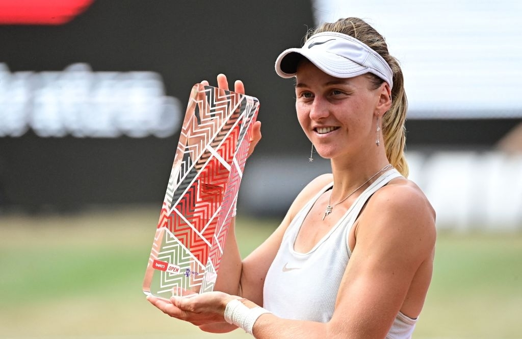 Samsonova was a surprise package at the inaugural edition of the tournament in Berlin, the Russian qualifier storming her way to her first career title. Photo: