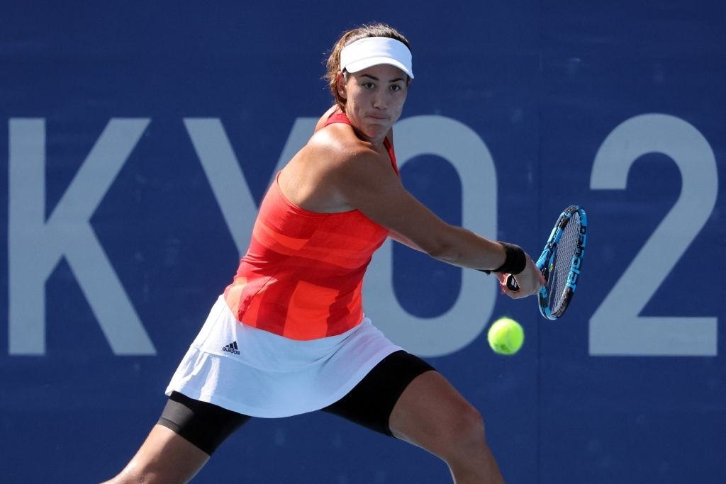 Muguruza will be Rybakina's next opponent in what will be their second clash overall, in more than a month. Photo: