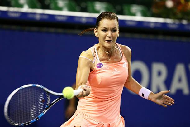 Radwanska reached the last four in Tokyo in 2016, though will no longer be in action in 2017 (Getty/Koji Watanabe)