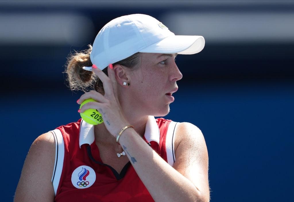 Pavlyuchenkova turned around a slow start to eventually send the match the distance. Photo: