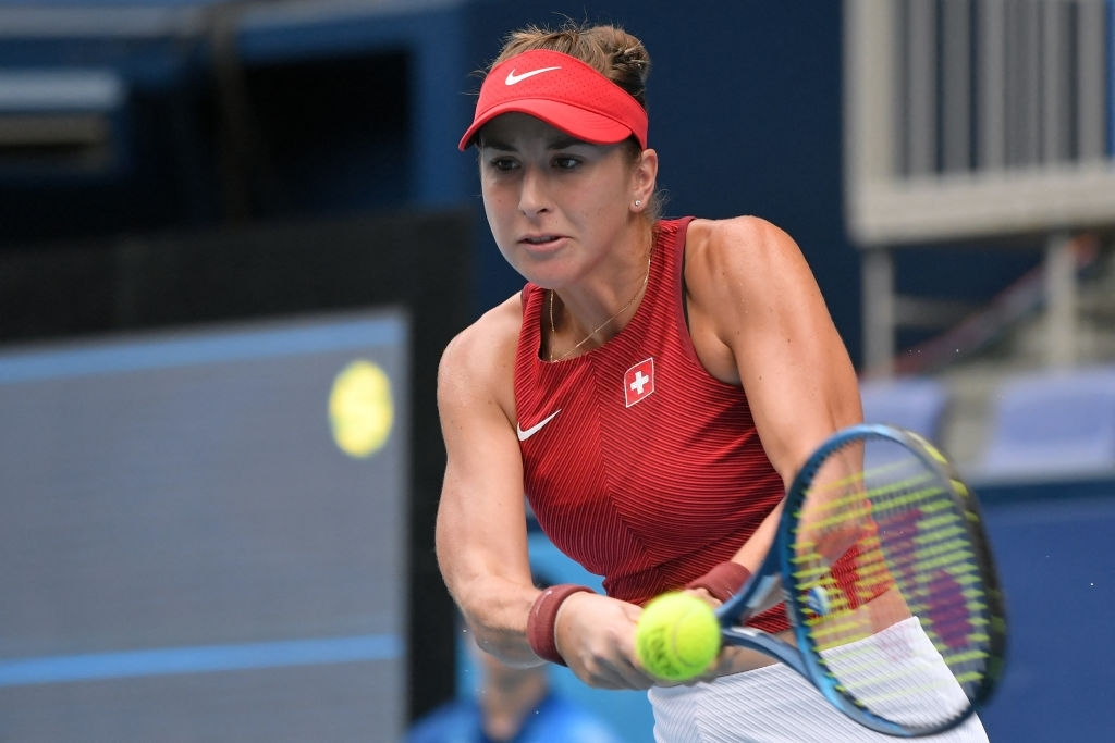 Bencic came back from a three-game early deficit to take the opening set in a tiebreak. Photo: Tiziana Fabi