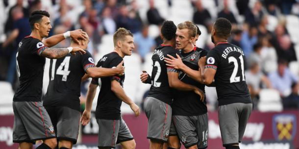 Both Fonte and Southampton have found their form again after a below-par start to the season. Photo: Getty.