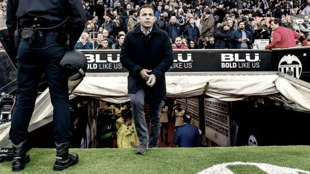 Javier Calleja fue nombrado técnico del primer equipo el pasado 25 de septiembre | Foto: web oficial del Villarreal CF