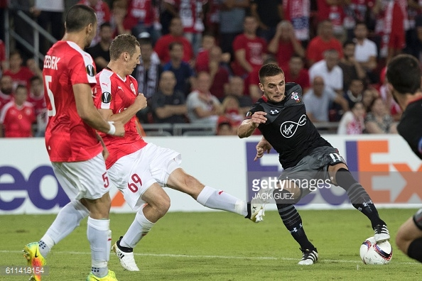Tadic tries and fails to break the deadlock. Photo: Getty