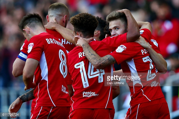 Jamie Paterson scored against former club Forest last time they met. (picture: Getty Images / Dan Istitene)
