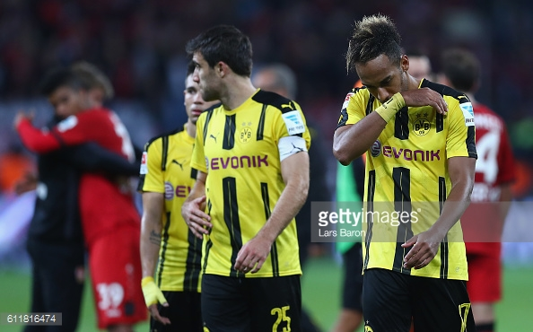 The Dortmund players are left to rue a bad day at the office | Photo: