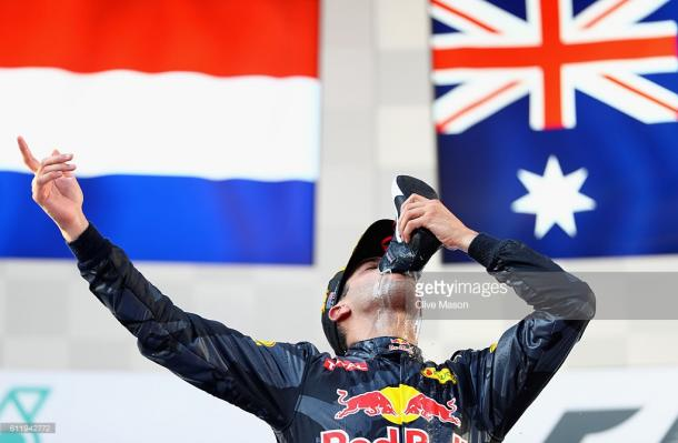 ...But got his reward in Malaysia.   Photo: Getty Images/Clive Mason