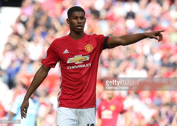 Rashford has shown maturity beyond his years in his style of play | (Source: Getty | Matthew Peters)