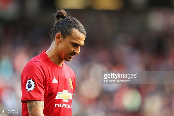 Zlatan wasted some big opportunities to give United the lead (Source: Getty | Richard Heathcote)