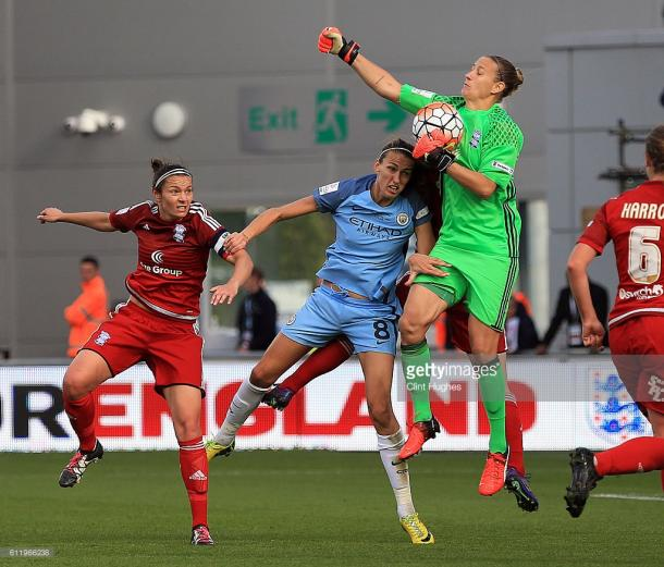 Although not awarded Player of the Match (that particular accolade going to Lucy Bronze) the strong consensus was Ann-Katrin Berger was the stand-out perfromer, an inspired Summer acquisition