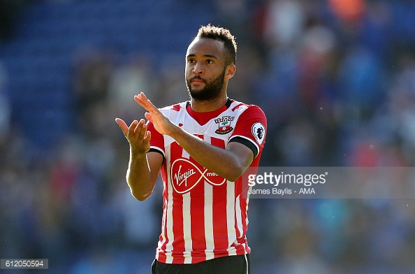 Striker Nathan Redmond could be left to fill the hole left by Austin's absence at the San Siro on Thursday. Photo: Getty.