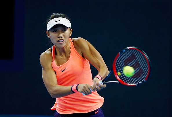 Zhang storms through the set in 19 minutes | Photo: Etienne Oliveau/Getty Images