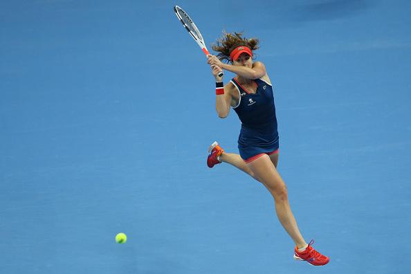 Cornet triumphs and advances to the quarterfinals | Photo: Emmanuel Wong/Getty Images