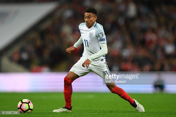 Lingard impressed on his England debut against Malta during the international break | Photo: Shaun Botterill / Gertty Images