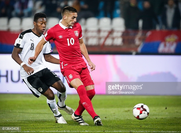 Tadic in action for his country. Photo: Getty