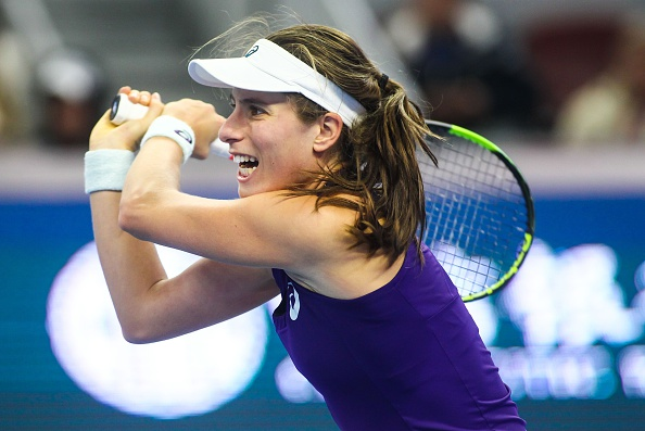 Top seed Konta will be making her debut appearance in Zhuhai. Photo credit: Anadolu Agency/Getty Images.