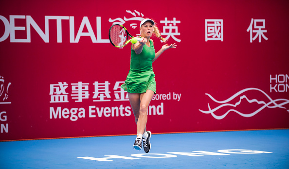 Wozniacki gets the job done to advance to the next round | Photo: Power Sport Images/Getty Images