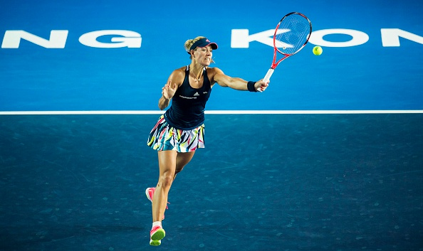 Kerber finishes strongly | Photo:  Emmanuel Wong/Getty Images