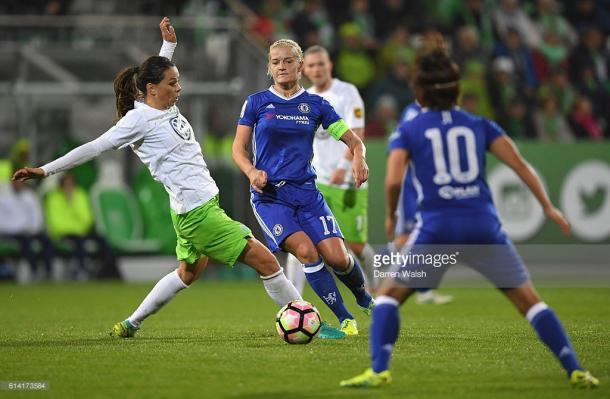 Chelsea fought hard but fell short.