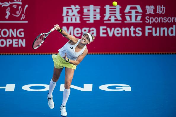 Mattek-Sands completes the upset | Photo: Power Sport Images/Getty Images