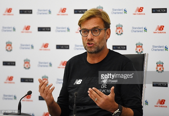 Klopp spoke about the game against United positively and spoke about the world class talent that United have among their ranks (source: Getty | John Powell)