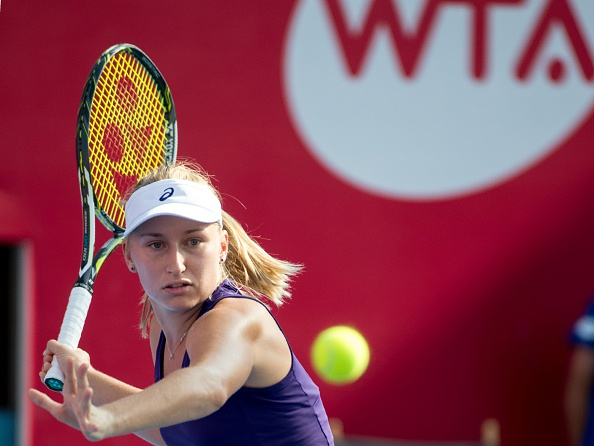 Gavrilova fights back to level the set | Photo: Jayme Russell/Getty Images