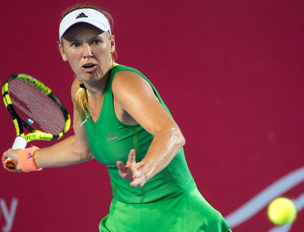 Wozniacki finds her rhythm after a slow start | Photo: Jayne Russell/Getty Images