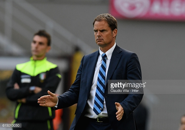De Boer concedes that the team needs to improve to get positive results (Source: Getty | Claudio Villa)
