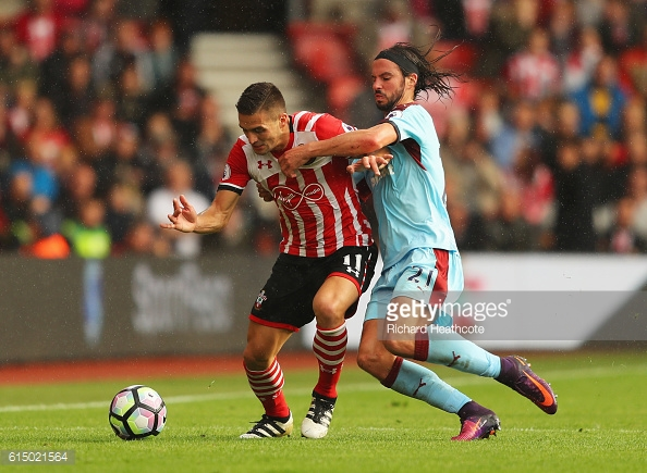 Tadic tussles with Boyd. Photo: Getty