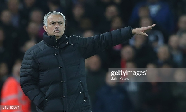 It was another frustrating afternoon for Mourinho (photo: Getty Images)