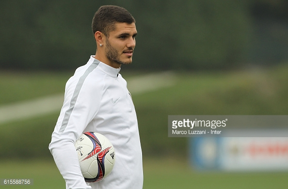 Icardi has fallen out with the supporters at the club. Photo: Getty