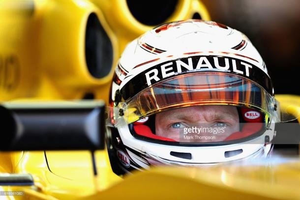 Magnussen joins from Renault. | Photo: Getty Images/Mark Thompson