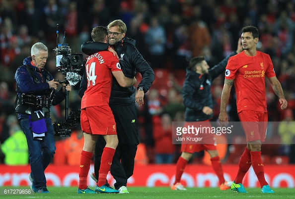 Klopp has been working wonders on and off the pitch. Photo: