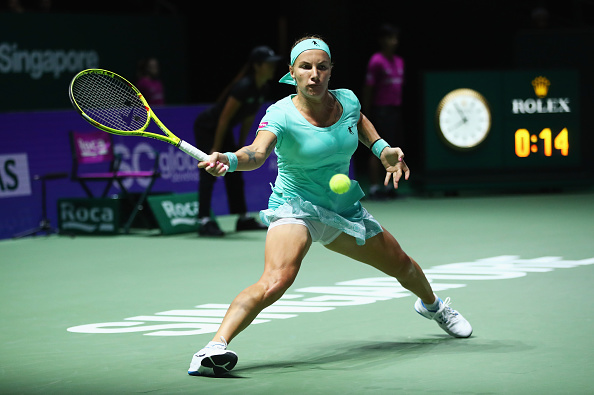 Kuznetsova gets herself to just one game from winning the match | Photo: Clive Brunskill/Getty Images