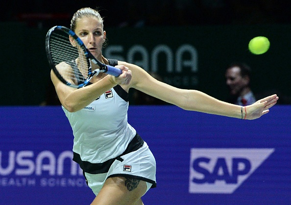 Pliskova tries to find a way back after trailing behind | Photo: Roslan Rahman/Getty Images