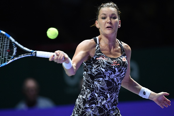 Radwanska wraps up the first set in style | Photo: Roslan Rahman/Getty Images