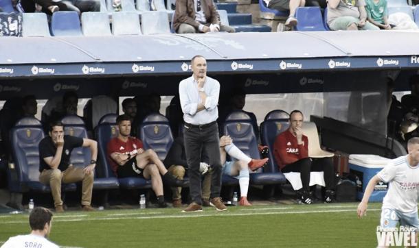 Víctor Fernández durante un partido | Foto: Andrea Royo, VAVEL