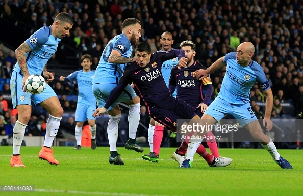 City have struggled to find a back four that works. Photo: Getty/ Anadolu Agency