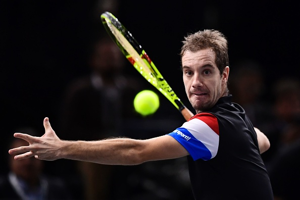 Gasquet stars for France | Photo: Miguel Medina/Getty Images
