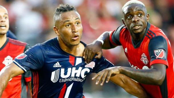 Juan Agudelo was not able to have a big impact on the game tonight | Source: mlssoccer.com