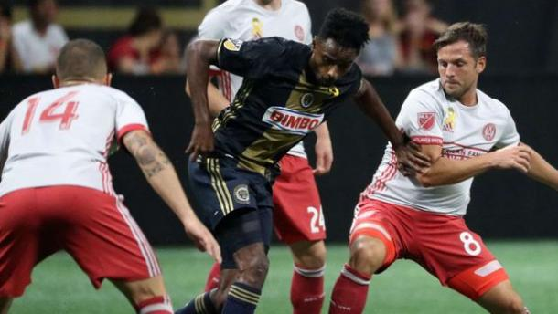 Atlanta kept all of the Union's influential players quiet throughout the 90' | Source: mlssoccer.com