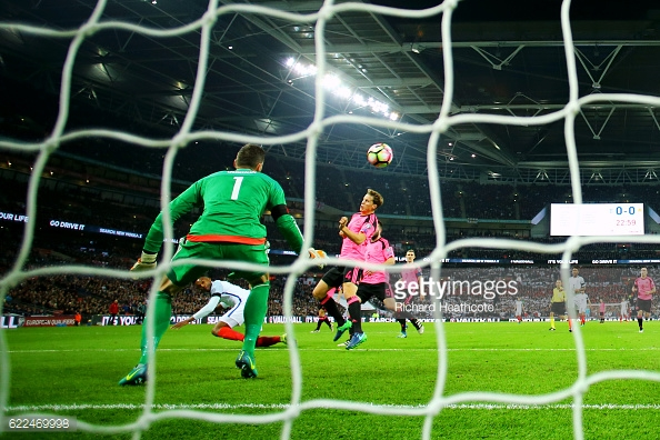 Sturridge gives England the lead (photo: Getty Images)