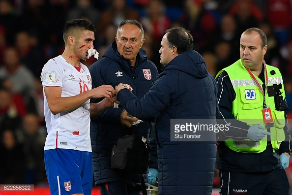 Tadic may have to wear a mask tomorrow. Photo: Stu Forster