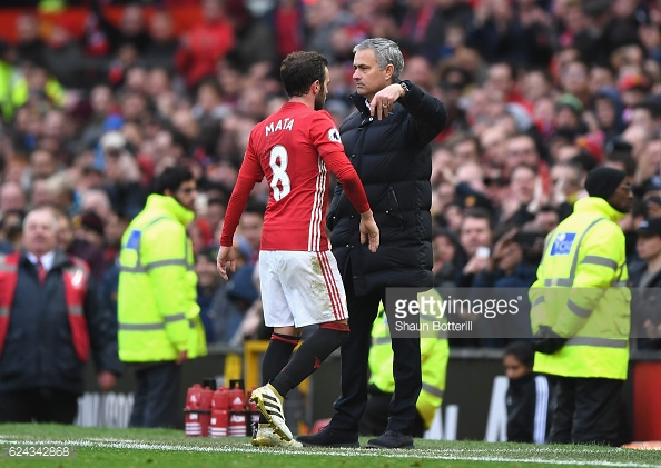 Mata and Mourinho have seen eye to eye second time round. Photo: Shaun Botterill