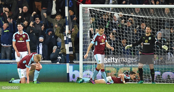 An evening to forget for Burnley (photo: Getty Images)