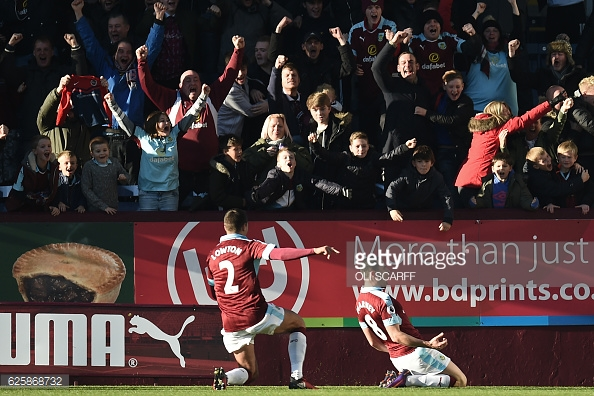 The midfielder celebrates (photo: Getty Images)