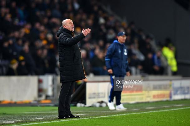 Phelan cut a frustrated figure at times (photo: Getty Images)