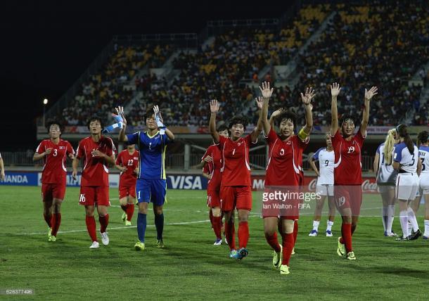Se despiden del torneo las norcoreanas | Foto: Getty Images