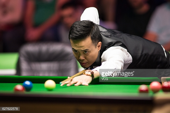Fu is in great form after winning the last major event of 2016 (photo: Getty Images)